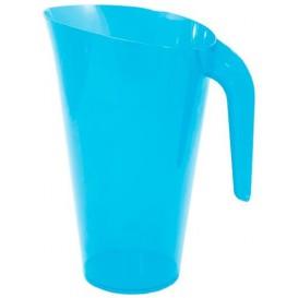 Brocca Plastica Turchese Riutilizzabile 1.500 ml (20 Pezzi)