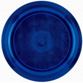 Piatto di Plastica Blu Round PP Ø290mm (300 Pezzi)