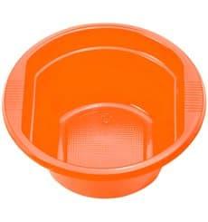 Ciotola di Plastica PS arancione 250ml Ø12cm (660 Pezzi)