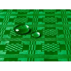 Tovaglia Impermeabile Rotolo Verde Scuro 5x1,2 metri (10 Pezzi)