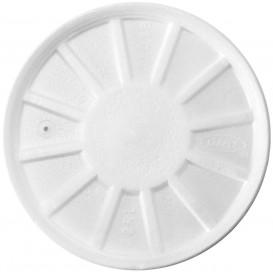 Coperchio Termici EPS Ventilato Bianco Ø11,7cm (50 Pezzi)