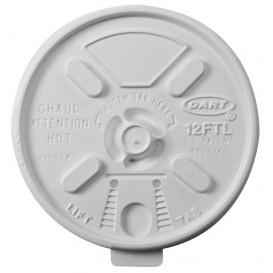 "Coperchio ""Lift n' Lock"" PS Bianco Ø8,9cm (100 Pezzi)"