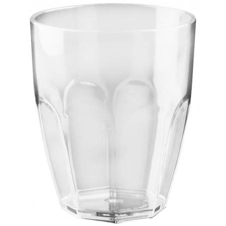 Bicchiere di Plastica Transparent SAN 355ml (1 Pezzi)