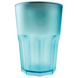 Bicchiere Riutilizzabili SAN Frost Turchese Trasp. 400ml (5 Pezzi)