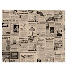 Carta Antigrasso Kraft Giornali 28x34cm (4000 Pezzi)