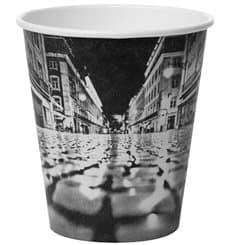 """Bicchiere di Carta 6Oz/180ml """"Parisian"""" Ø7,9cm (50 Pezzi)"""