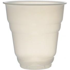 Bicchiere Plastica PS Vending Design bianco satinato 166ml Ø7cm (100 Pezzi)