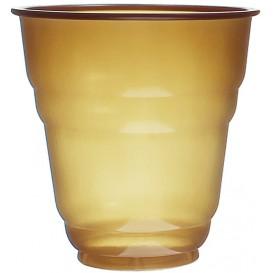 Bicchiere Plastica PS Vending Design Marrone 166ml Ø7,0cm (100 Pezzi)