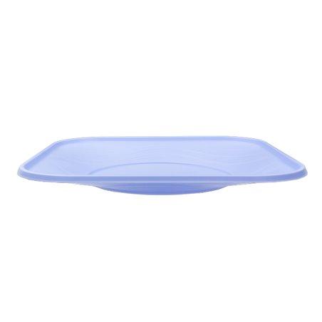 """Piatto di Plastica PP """"X-Table"""" Piazza Piano Viola 230mm (8 Pezzi)"""