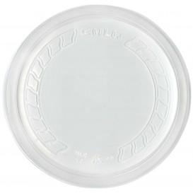 """Coperchio di Plastica PP """"Deli"""" Semitrasparente Ø120mm (500 Pezzi)"""