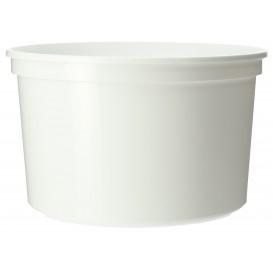 Contenitore rotondo bianca in plastica 500cc (1.000 Unità)