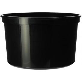 Coppette Plastico Nera 500ml  Ø11,5cm (50 Pezzi)