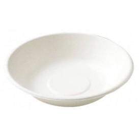 Piatto Canna da Zucchero Fondo Bianco Ø190mm (1000 Pezzi)