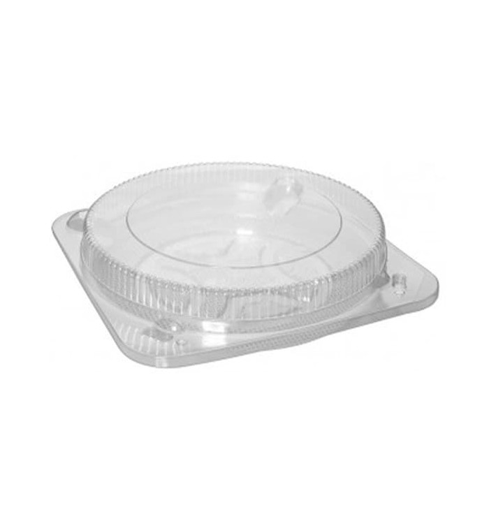 Scatola per Torte Trasparente Ø20cm (5 Pezzi)