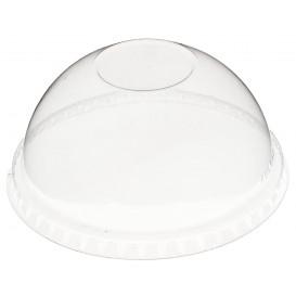 Coperchio Cupola Chiuso Coppette PET 270ml Ø9,3cm (100 Pezzi)