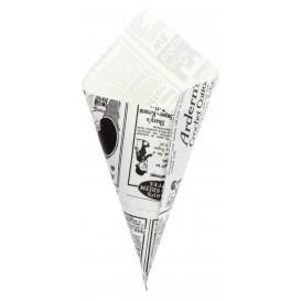 Cono di Carta Greaseproof Parchment 200mm 70g (250 Pezzi)