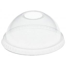 Coperchio Cupola con Foro PET Glas Ø8,3cm (100 Pezzi)