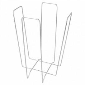 Portatovaglioli di Filo 18x18x19,4cm (12 Pezzi)