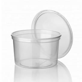 Coppette Plastico Trasparente 500ml  Ø11,5cm (50 Pezzi)