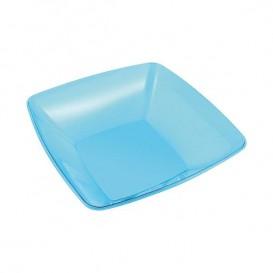 Plato Plastico Rigido Cristal Transparente 18 cm (108 Uds)