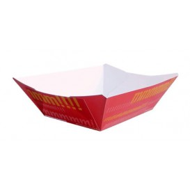 Vaschetta 525ml Carta 12,1x8,1x5,5cm (50 Pezzi)