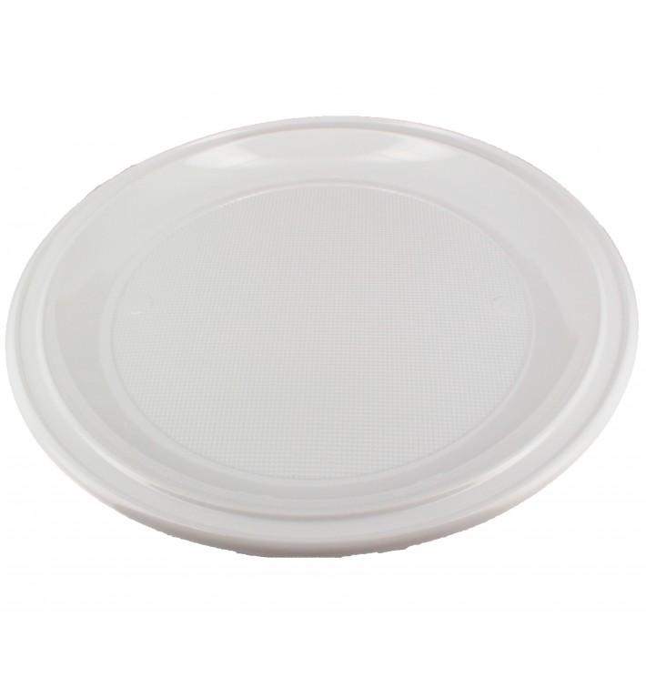 Piatto Plastica Pizza PS Bianco 280mm (400 Pezzi)