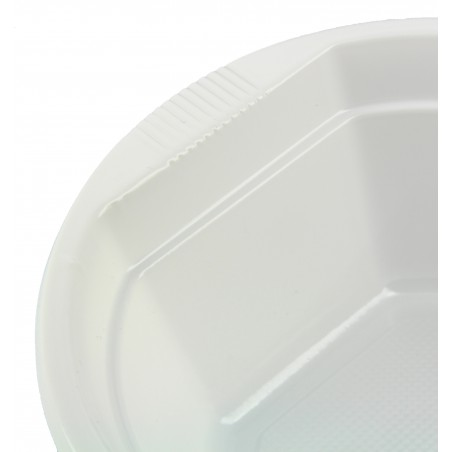 Ciotola di Plastica Bianca 250 ml  (100 Pezzi)