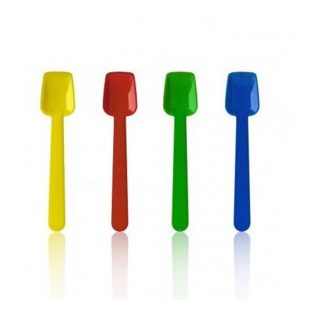 Cucchiaino di Plasticaper Gelatos 90mm (10.000 Pezzi)