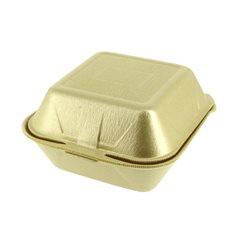 Contenitori Hamburger in Polistirolo Oro (500 Pezzi)