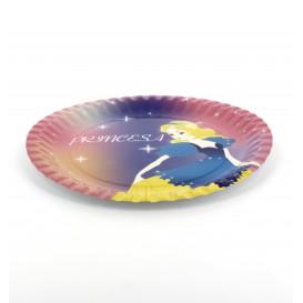 """Piatto di Carta Disegno """"Principessa"""" 23 cm (504 Pezzi)"""