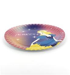 """Piatto di Carta Disegno """"Principessa"""" 18 cm (504 Pezzi)"""