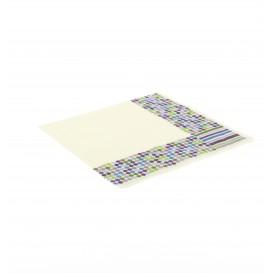 """Tovaglioli di Carta """"Talpe e Strisce"""" 33x33 cm (20 Pezzi)"""