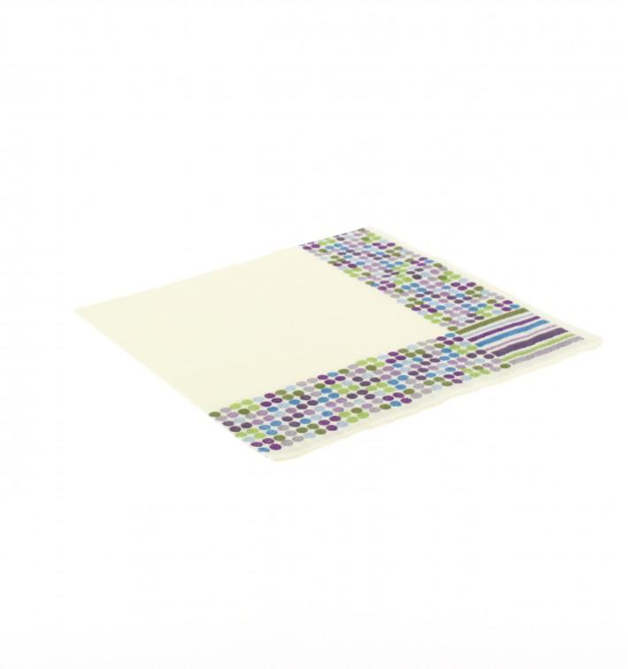 """Tovaglioli di Carta """"Talpe e Strisce"""" 33x33 cm (500 Pezzi)"""
