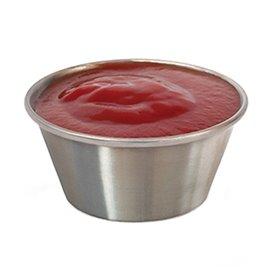 Contenitore Inox per Salse 90ml (12 Uds)