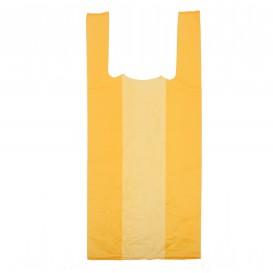 Sacchetto di Plastica Canottiera 35x50cm Arancione (5000 Pezzi)