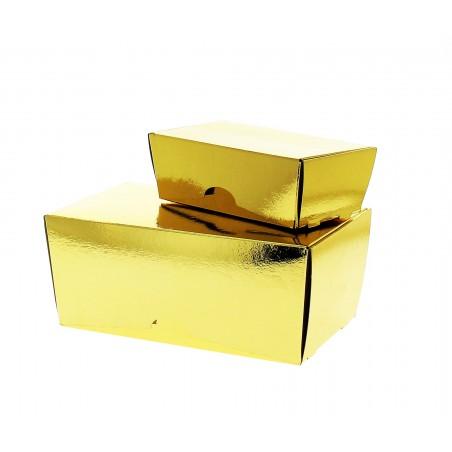 Scatola per Dolci e Praline Oro 19x11x8,5cm 1000g (5 Pezzi)