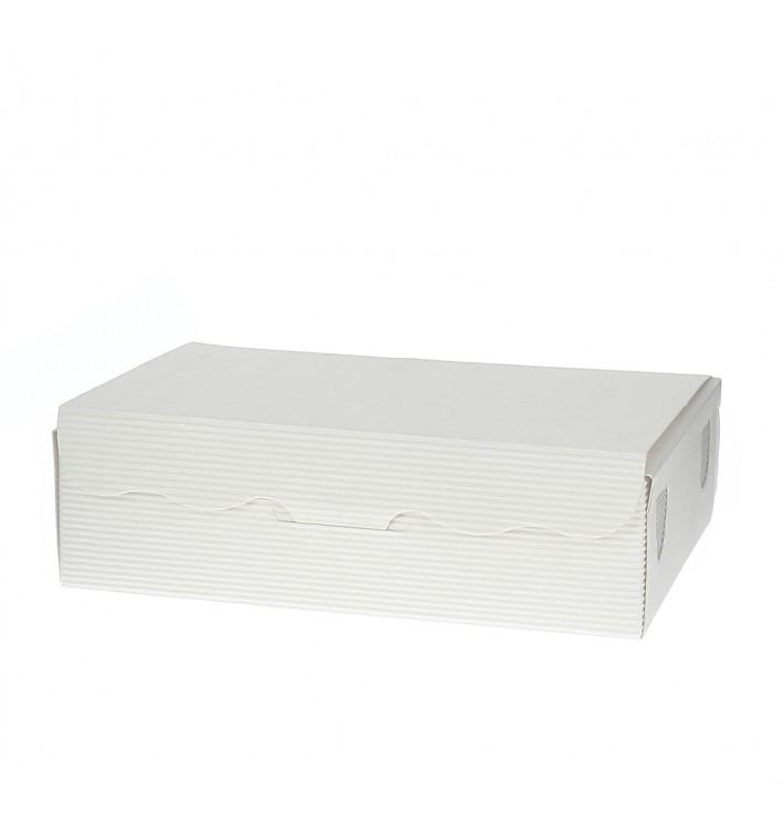 Scatola per Dolci e Praline Bianco 11x6,5x2,5cm 100g (5 Pezzi)