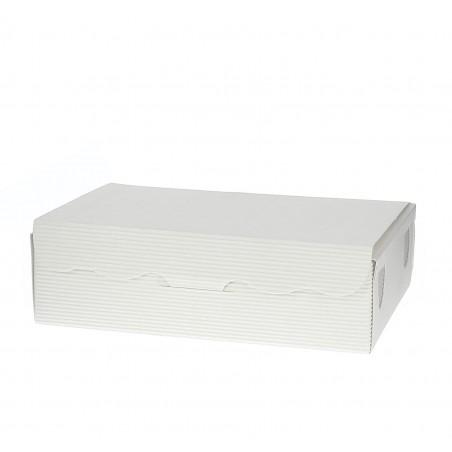 Scatola per Dolci e Praline Bianco 11x6,5x2,5cm 100g (1000 Pezzi)