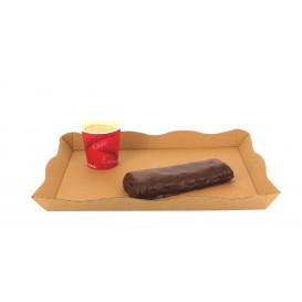 Vassoio Kraft per Catering o Fast Food (10 Pezzi)