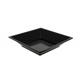 Piatto Plastica Fondo Quadrato Nero 170mm (360 Pezzi)