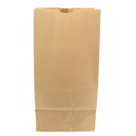 Sacchetto di Carta Kraft 20+16x40cm (25 Pezzi)