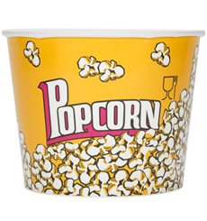 Ciotola per Pop Corn 3900ml 18,1x14,2x19,4cm (25 Pezzi)
