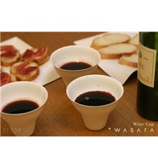 Verre Wine Cup Wasara Biodegradable 260 ml (50 Pezzi)