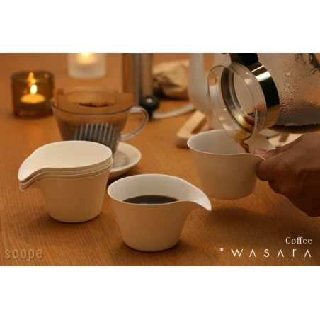 Verre Coffee Cup Wasara Biodegradable 150 ml (100 Pezzi)