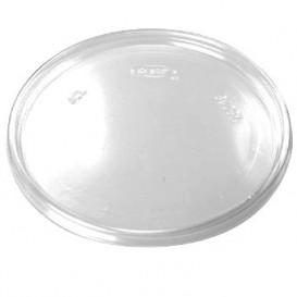 Coperchio Plano di Plastica Trasparente Ø11cm (100 Pezzi)