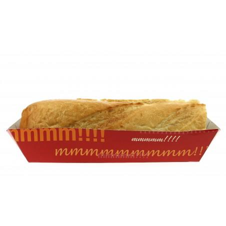 Vaschetta Hot Dog 17,0x5,5x3,8cm (1.000 Pezzi)