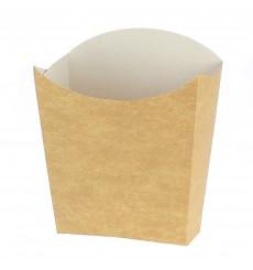 Scatola Kraft per Fritte Piccolo 8,2x2,2x9cm (25 Pezzi)