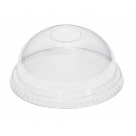 Coperchio Cupola Chiuso Bicchieri PET e PLA Ø9,5cm (50 Pezzi)