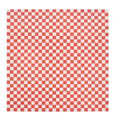 Carta Antigrasso Rosso 31x31cm (4000 Pezzi)