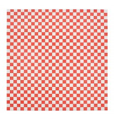 Carta Antigrasso Rosso 31x31cm (1000 Pezzi)